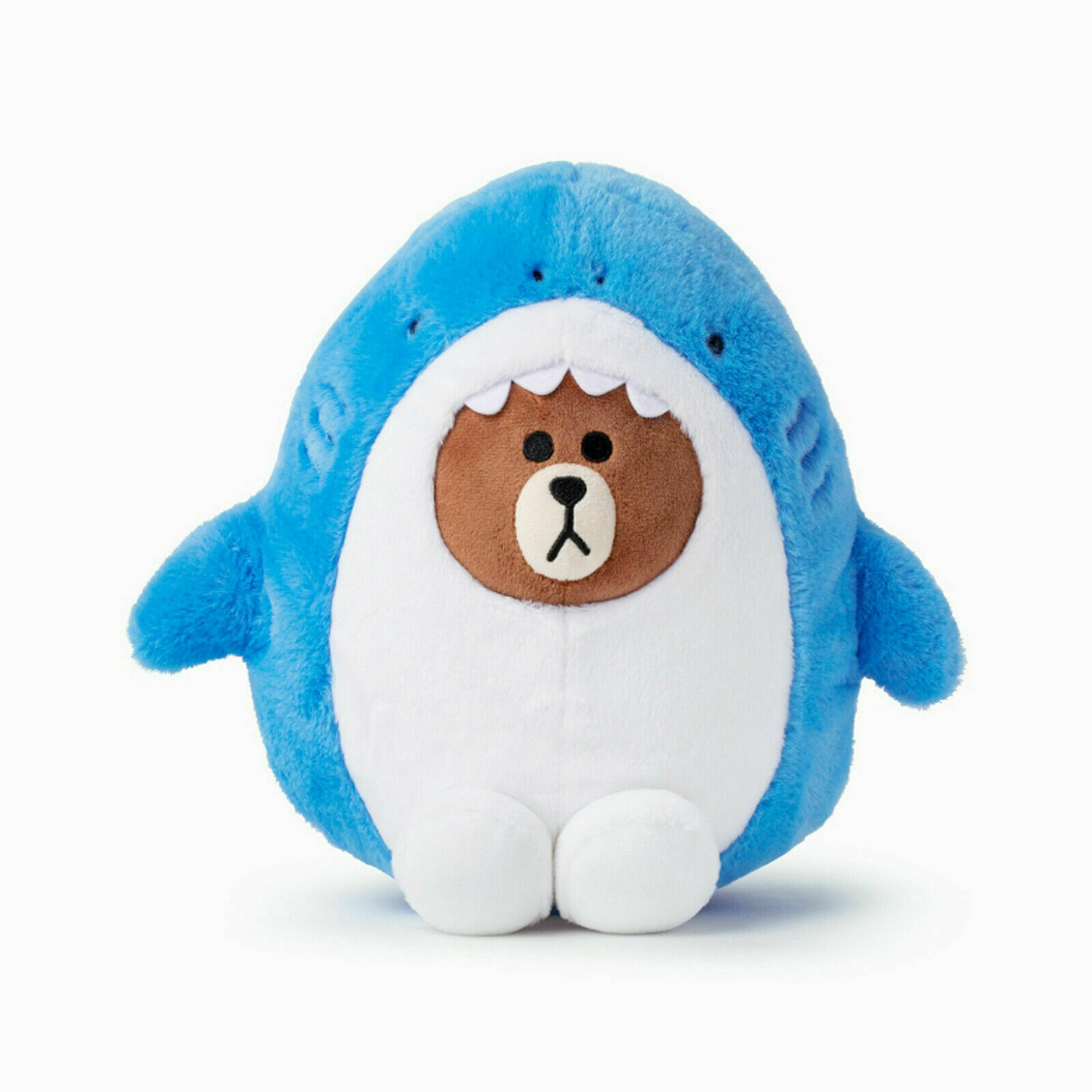 """LINE FRIENDS Character Plush Doll Toy G BROWN Bear 25cm 9.8/"""" Official Goods"""