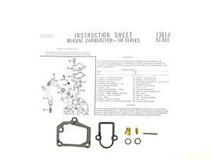 2FastMoto-Yamaha-Chappy-LB80-LB-80-Mikuni-VM-Carb-Carburetor-Rebuild-Repair-Kit