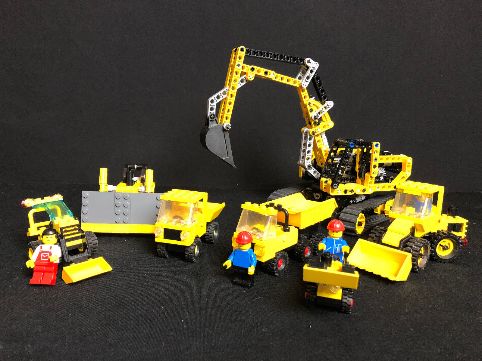 Lego 7x engins de chantier Excavateurs chantier et al. 8419 8259 6648 6603 City Ville Town