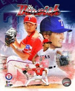 "Yu Darvish Texas Rangers MLB Action Photo (Size: 8"" x 10"")"