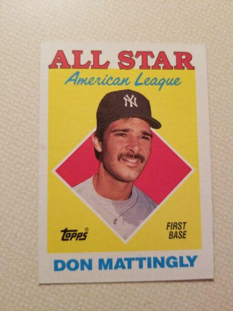 1987 Topps Don Mattingly 386 Baseball Card For Sale Online Ebay