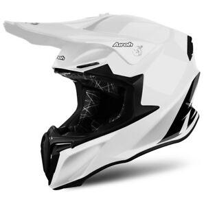 Airoh Torsion Blanc Brillant Moto Mx Enduro Hors Route Moto Casque Jz7l7wbz-07225744-840835098