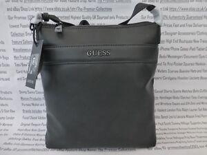 GUESS Slim Crossbody Bag 6577 Grey Small-Med   Pouch Pu City ... c574ce042aeeb