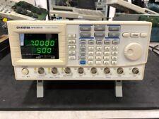 Gw Instek Gfg 3015 15mhz Function Generator With Fresh Calibration And Warranty