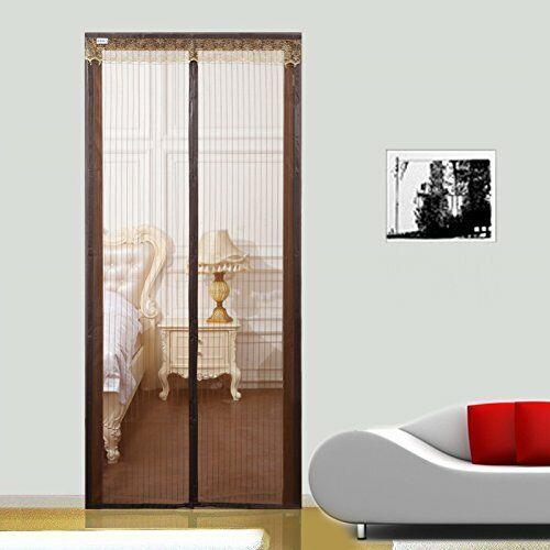 "HGmart 36/""x82/"" Magnetic Screen Door Mosquito Netting Screen For Kids Coffee"