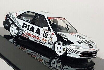 1:43 IXO Voiture RAC241A Honda Civic EG9 JTCC PIAA 1994 Tanak