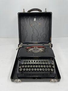 1930s smith corona standard typewriter portable No. 1C19539