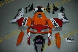 Fairings for Honda CBR600rr 05-06 white repsol ABS Kits 2005 2006 bodykits