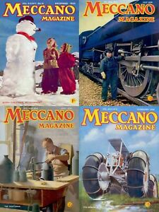 240 ISSUES OF MECCANO MAGAZINE - HOBBY MECHANICAL TOYS VOL.2 (1937-1956) ON DVD