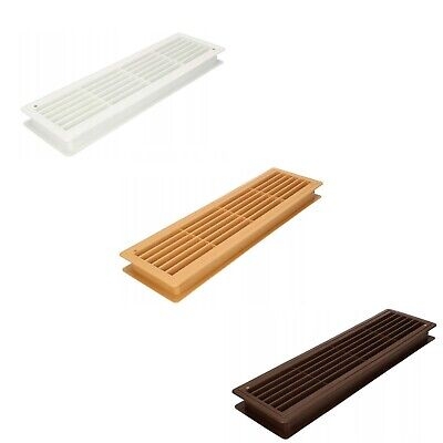Door Bathroom Air Vent Grille 460mm x 135mm Two Sided ...