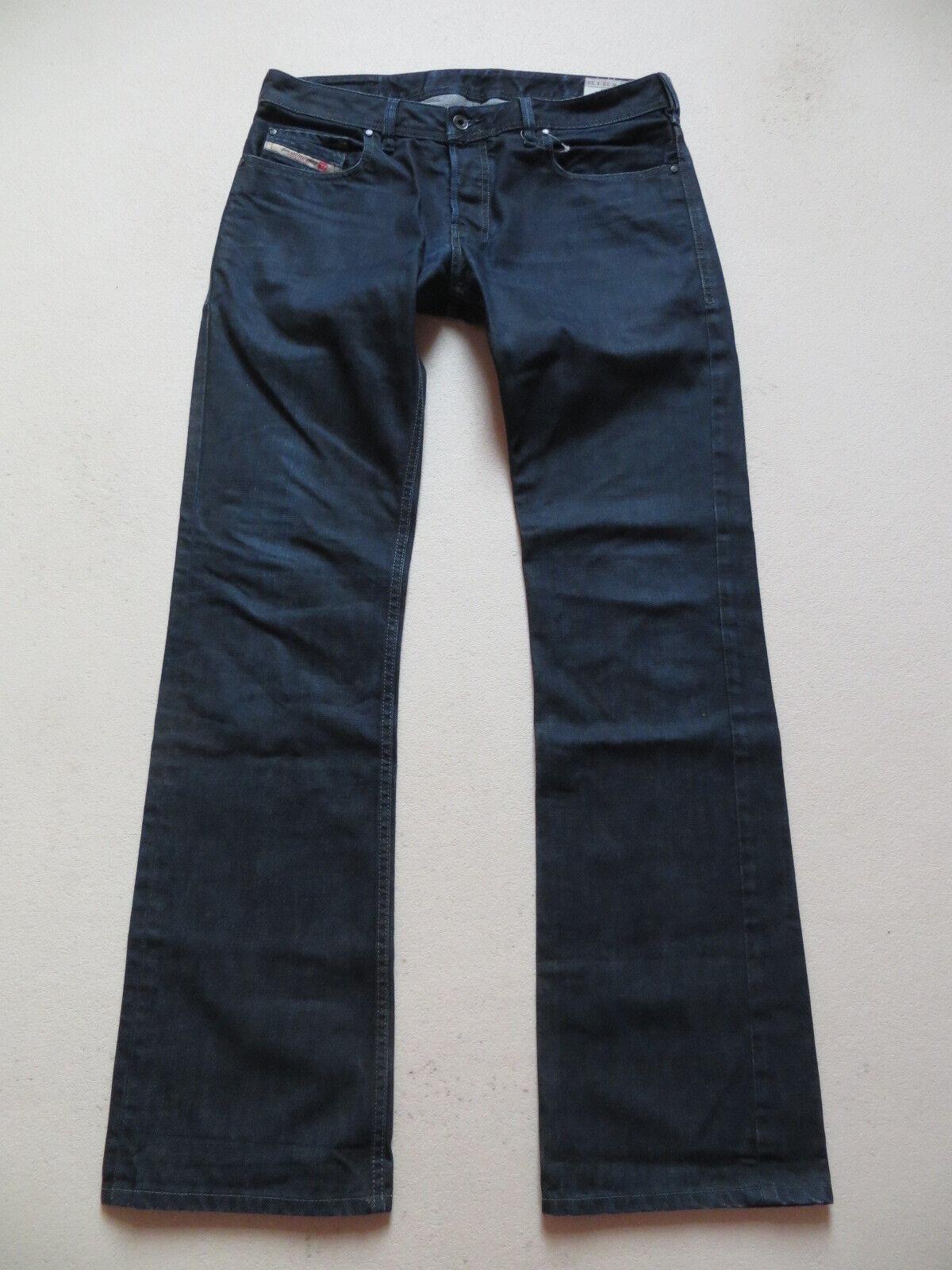 Diesel ZATINY wash 0088Z Stiefelcut Jeans Hose W 32  L 34 dark Indigo Denim TOP