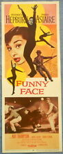 FUNNY FACE MOVIE POSTER! Audrey Hepburn Fred Astaire Kay Thompson 1957