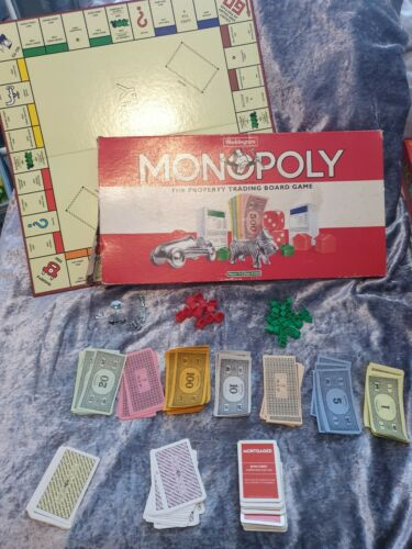 PICK YOUR PARTS MONOPOLY THE PROPERTY TRADING BOARD GAME