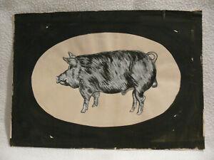 Norbert-Fleischer-Maler-Original-Zeichnung-Kunstwerk-Unikat-Einzelstueck-signiert