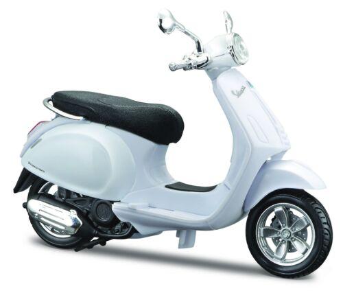 Roller Modell 1:18 Vespa 2014 Primavera 150 weiß von Maisto
