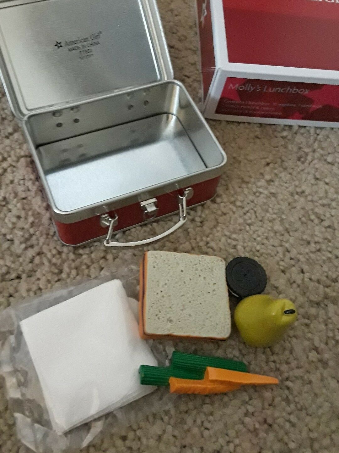 American Girl Molly/'s Lunchbox  Complete   NEW in Box  NRFB