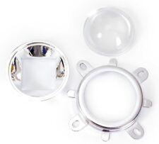 Led Lens Headlight 44mm Lens Fixed Bracket For 10w 100w Leds Diy Reflector