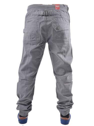 Ragazzi Bambini ENZO EZB188 Grigio Con Risvolto Jogger Pantaloni Tutte le Taglie 24 a 29 ridotto