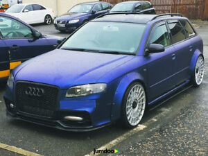 Audi A4 S4 Fender Flares Concave Wide Body Kit Wheel Arches