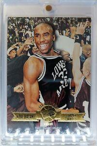 631011807f5 Rare: Kobe Bryant Rookie RC Press Pass 1996