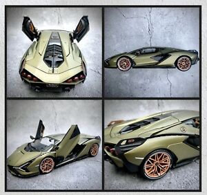 Lamborghini-Sian-FKP-37-1-18-Edicion-Especial-Coche-Modelo-Diecast