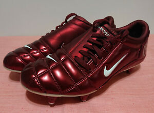 2005-Nike-Total-90-III-SG-BORDEAUX-T90-Football-Crampons-Chaussures-de-football-US-8-UK-7