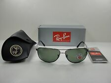 a5f5b8a2b10 item 4 RAY-BAN POLARIZED SUNGLASSES RB3506 029 9A GUNMETAL   SILVER GREEN  LENS 64MM -RAY-BAN POLARIZED SUNGLASSES RB3506 029 9A GUNMETAL   SILVER  GREEN LENS ...
