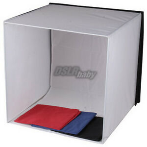 Image is loading 40cm-16-039-039-Photo-Softbox-Photography-Shooting-  sc 1 st  eBay & 40cm 16u0027u0027 Photo Softbox Photography Shooting Tent Cube Studio Soft ...