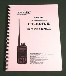 Yaesu FT-101 Instruction Manual Premium Card Stock Covers /& 28 LB Paper!