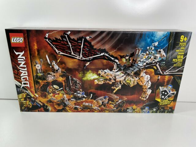 LEGO Ninjago 71721 Skull Sorcerer's Dragon (1016 Pieces) NEW + Free Shipping