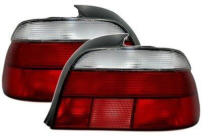 Paire de feux arriere BMW serie 5 E39 berline 95-00 rouge blanc M49