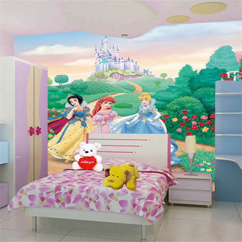Faraway Big Castle 3D Full Wall Mural Photo Wallpaper Printing Home Kids Decor