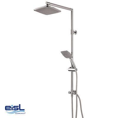 eisl Design Duschsäule CHAMPAGNE DX1000CACS mit Umsteller für Kopf- & Handbrause