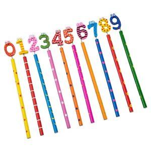 10pcs-Cute-Wooden-Number-0-9-Pencils-For-Kids-Random-Pattern-L6F7