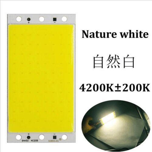 12-14V 15W COB LED Light Board Panel Chip DIY Car Lamps Parts Accessories CW RGB