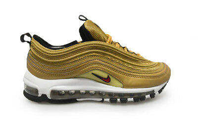 Femmes Nike Air Max 97 Og Qs 885691 700 or Métallique Baskets | eBay