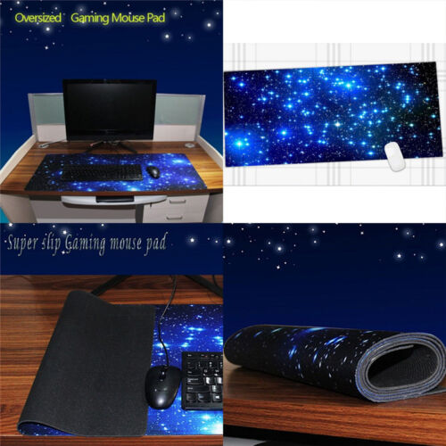 Extra Large Gaming Mouse Pad Mat for PC Laptop Macbook Anti-Slip  new.
