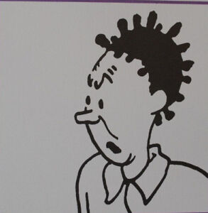 Herge-by-Tintin-Characters-7-3-Lithographs-Exlibris-2011