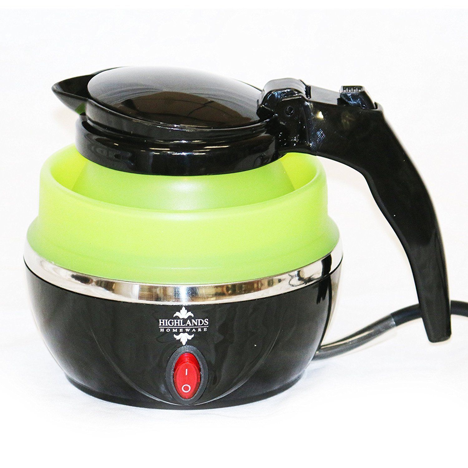Green Kitchen Travels: Small Travel Electric Foldable Kettle Caravan Camping