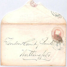 BM13 1857 GB PENNY PINK BANKING *Wills Percival Wycombe Bank* Bucks Cover PTS