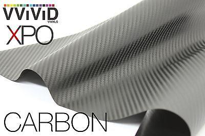 Vvivid Xpo 5ft x 10ft Gunmetal Grey Carbon Fiber Vinyl Wrap