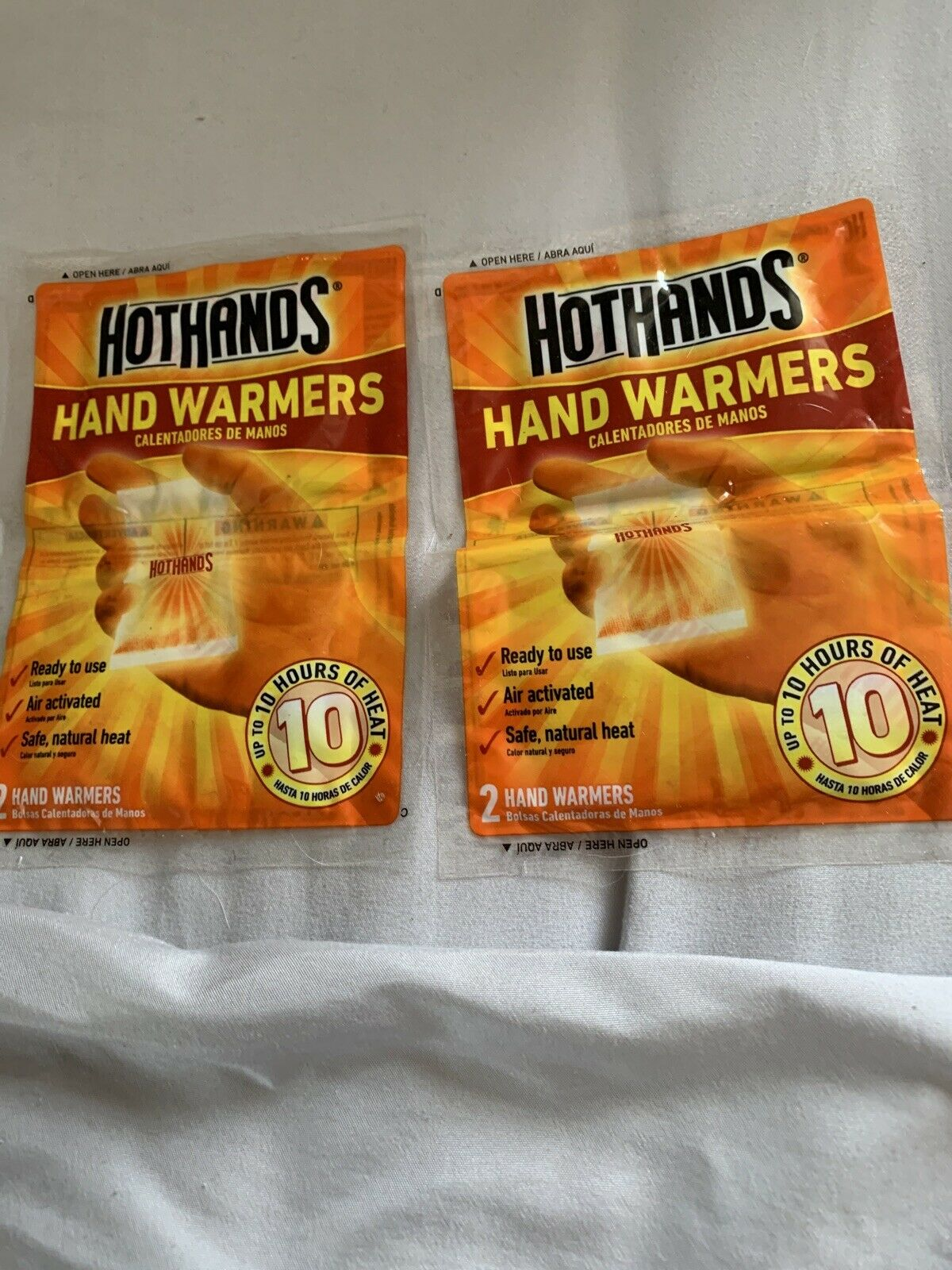 HotHands Hand Warmers 2 Pack 20 Total Pairs Of Hand Warmers Brand New Exp 8//23