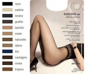 SISI-FASCINO-20-Taille-2-S-Collant-voile-sans-demarcation-Coloris-Tropico