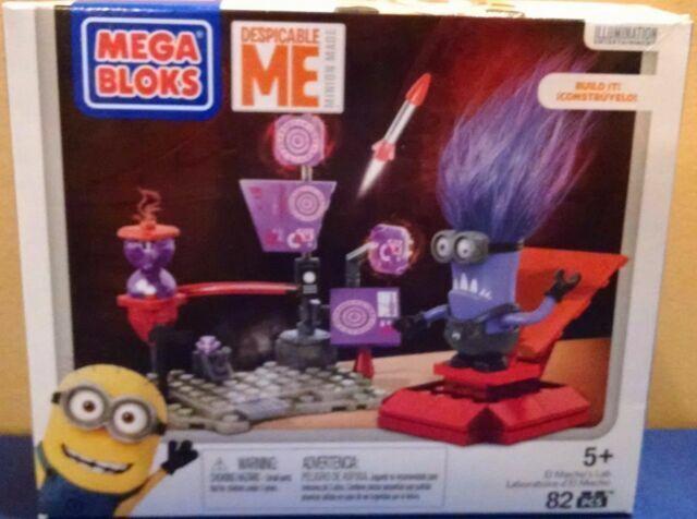 Mega Bloks Despicable Me El Macho/'s Lab Boys /& Girls 5 yrs New 2015