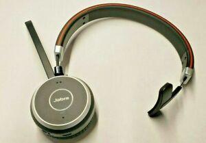 Used Jabra Evolve 65 Uc Mono Wireless Headset Music Headphones 706487015161 Ebay