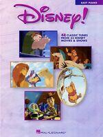 Disney Sheet Music Easy Piano Songbook 000316040
