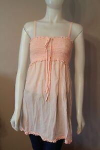 Juicy-Couture-Light-Pink-Tunic-Shirt-Top-Medium-M