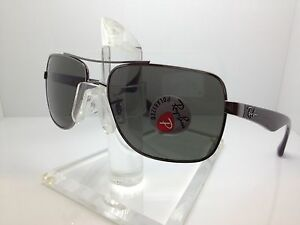 73e1c08dda1 NEW RAY BAN RB 3483 004 58 GUNMETAL POLARIZED SUNGLASSES RAYBAN