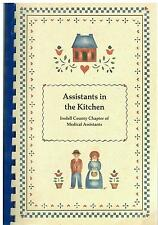 *STATESVILLE NC 1987 IREDELL COUNTY COOK BOOK *MEDICAL ASSISTANTS IN THE KITCHEN