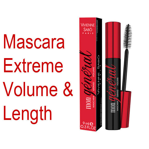 Vivienne Sabo Mon General Mascara With The Effect of Extreme Volume ...